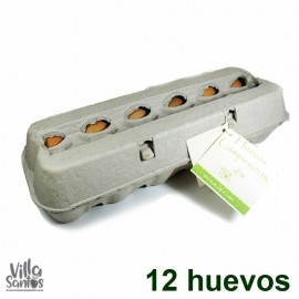 Caja de 12 Huevos Campesinos ECOVITALE