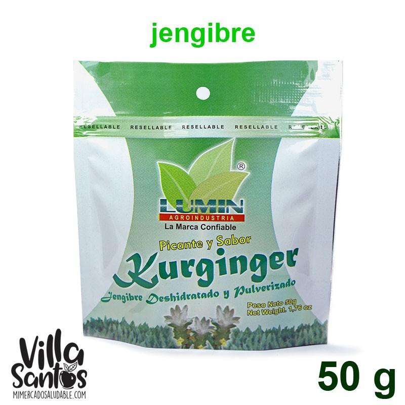 Jengibre en Polvo sobre 50 gr Lumin KURGINGER