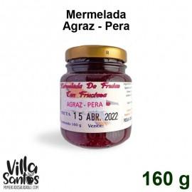 Mermelada Agraz Pera Fructuosa 160 gr Especialidades Alemanas