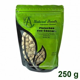 Pistachos con Cascara 250 gr Natural Foods