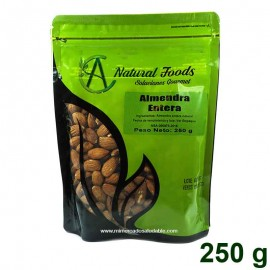 Almendras Enteras 250 gr Natural Foods