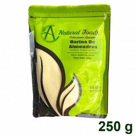 Harina de Almendras sin cutícula 250 gr Natural Foods