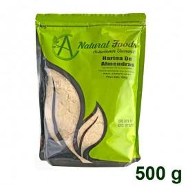 Harina de Almendras sin cutícula 500 gr Natural Foods