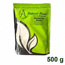 Harina de Avena 500 gr Natural Foods