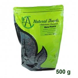 Uvas Pasas negras 500 gr Natural Foods
