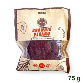 Brownie Vegano 75 gr Bahji