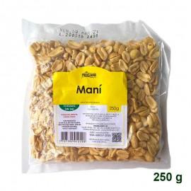 Maní Tostado sin sal 250 gr Prodelagro