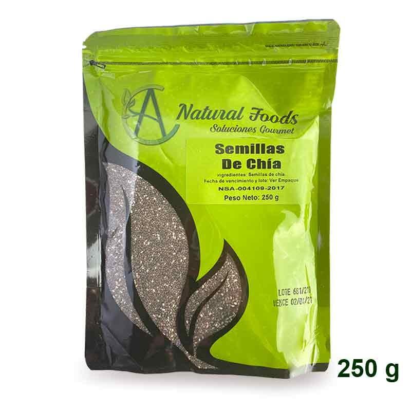 Semillas de Chia 250 gr Natural Foods