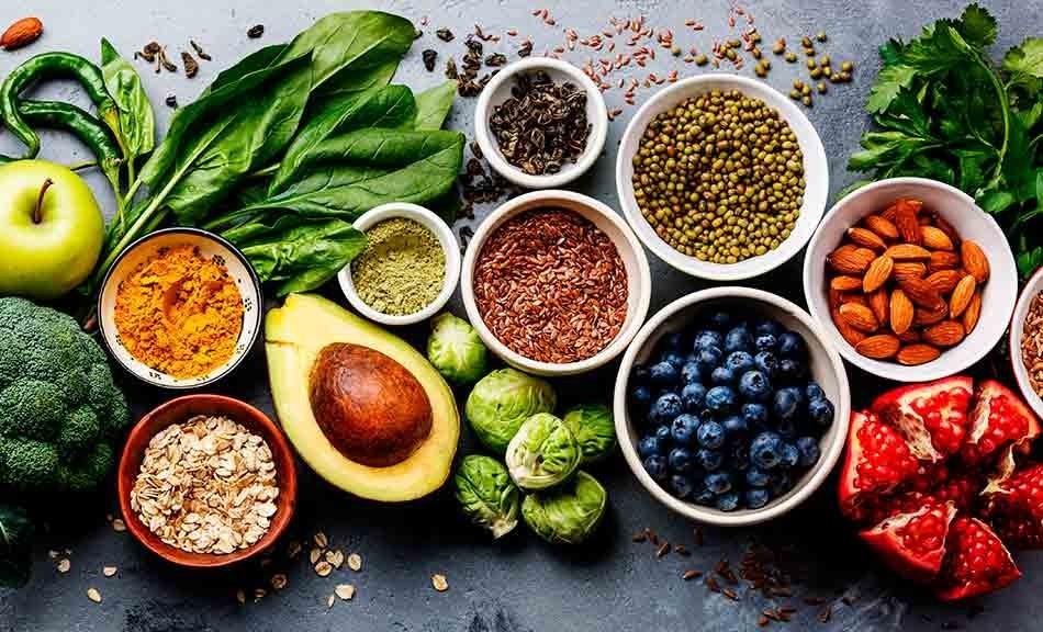 Opciones de alimentos para un mejor plato de comida